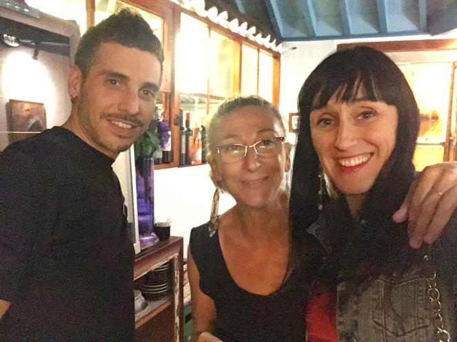 Con Carmen Enriclai